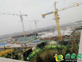 东部美的城工地实景图(2017.10.22)