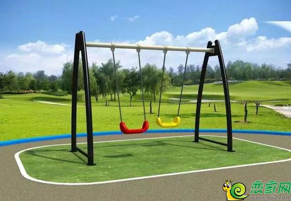 设计的嬉戏乐园 充分考虑儿童活动的安全性与趣味性 户外设施全龄覆盖图片