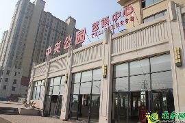 中央公园售楼部实景图(2017.10.27)