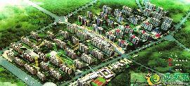 峰峰·中央公园鸟瞰图