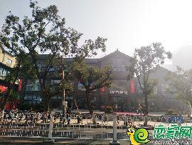 勒泰中心实景图(2017.10.22)