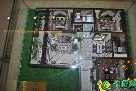 东城首府户型模型