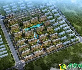 东城首府鸟瞰图