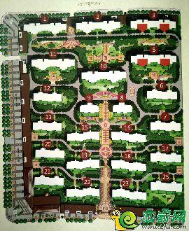 紅郡豪庭平面圖