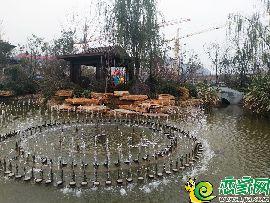 荣盛城园林示范区实景图(2017.11.21)