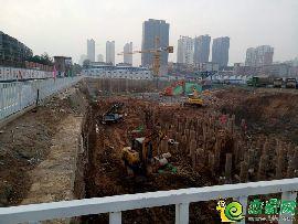 國瑞瑞城工地實景圖(2017.11.1)