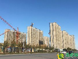 万浩红玺城工地实景(2017.11.10)