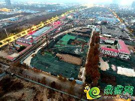 万浩繁花郡地块航拍(2017.11.21)
