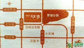 碧桂園天匯灣區位圖
