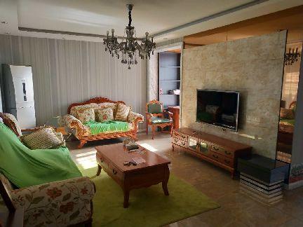 拉德芳斯豪华装修两居室全明户型好楼层随时看房拎包入住急租