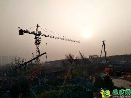 碧桂园天汇湾工地实景图(2018.1.21)