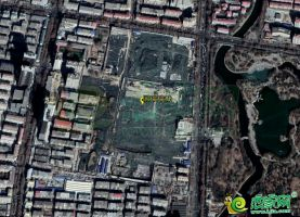 国瑞瑞城工地卫星图(2018.3.10)