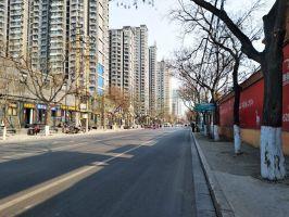 陵西大街实景图(2018.3.24)