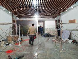 孔雀城展厅正在装修(2018.3.24)