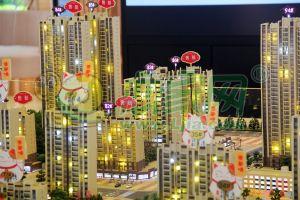 翡翠湾沙盘实景图(2018.4.24)