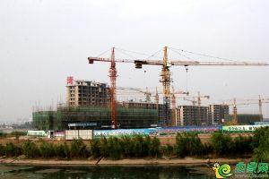 澜湾工地实景图(2018.5.13)