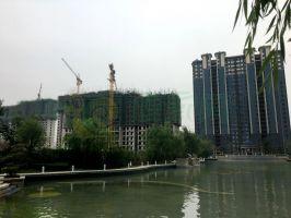 北湖十六峯实景图(2018.6.17)