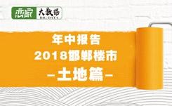 【年中报告】2018邯郸各区域土地出让汇总