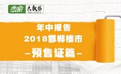 【年中报告】2018年邯郸楼市大数据—预售证篇