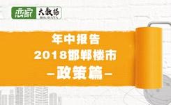 【年中报告】2018年邯郸楼市大数据——政策篇