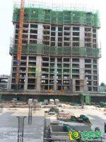 2号楼 1号楼 工程进度(2018.7.5)
