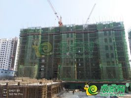 4号楼 1号楼 工程进度(2018.7.5)