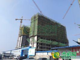 5号楼 1号楼 工程进度(2018.7.5)