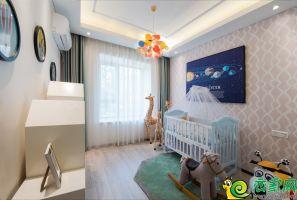 梦湖孔雀城100㎡婴儿房