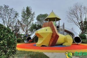 梦湖孔雀城实景图狮子王乐园