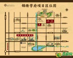 荣盛·锦绣学府区位图