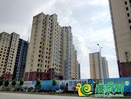万浩新城工地航拍实景(2018.7.14)