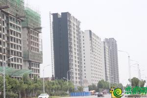 万浩红玺城工地实景(2018.7.15)