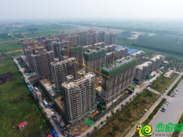 未來城工地航拍實景圖(2018.7.15)