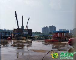 邯鄲萬達商場正在打樁(2018.7.19)