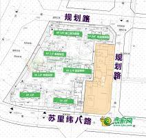 夢湖孔雀城1.2期規劃圖