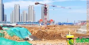 榮科家苑工地實景圖(2018.7.28)