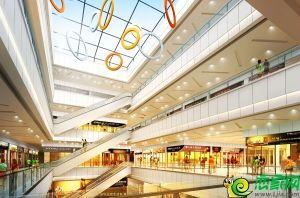 商贸中心室内透视图