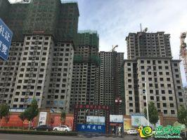 锦绣兰庭工地实景图(2018.8.22)