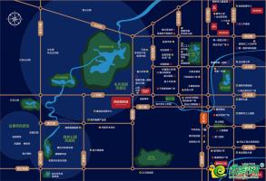 西部美的城區位圖