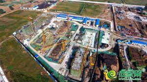 夢湖孔雀城1.2期航拍圖(2018.9.22)