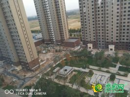 万浩红玺城园林实景(2018.10.10)