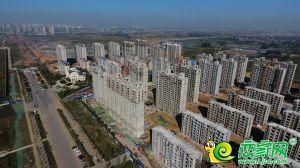未來城工地航拍實景圖(2018.9.29)