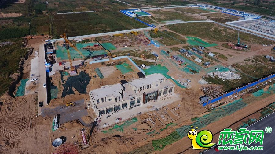 碧桂园东麟府航拍实景图(2018.9.29)