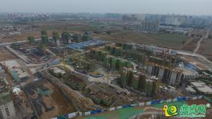 梦湖孔雀城航拍图(2018.11.8)