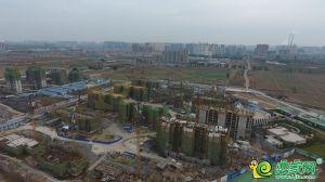 梦湖孔雀城城航拍图(2018.11.8)