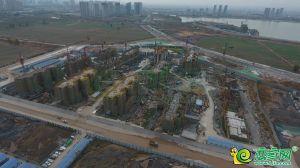 夢湖孔雀城城航拍圖(2018.11.8)