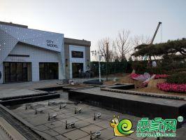 碧桂園東麟府售樓部實景圖(2018.11.18)