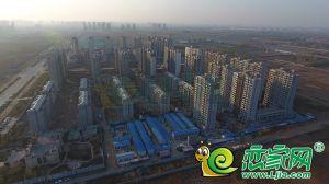 未來城工地航拍實景圖(2018.11.18)
