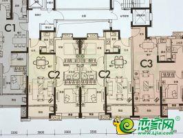 14#楼C2户型85㎡