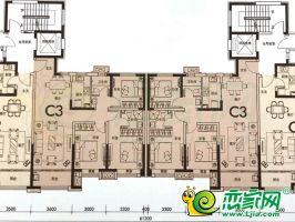 14#楼C3户型112㎡